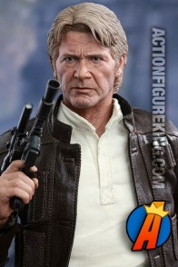Star Wars 12-inch scale Han Solo action figure from Sideshow Collectibles.
