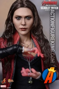 Avengers Age of Ultron Scarlet Witch action figure from Hot Toys.