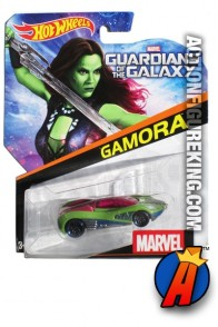 Guardians of the Galaxy Gamora die-cast car from Hot Wheels.