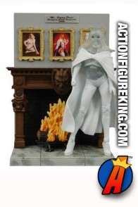 Marvel Select 7-inch Emma Frost clear variant action figure.