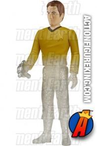 Star Trek variant Beaming Captain Kirk retro figure from Funko and ReAction.