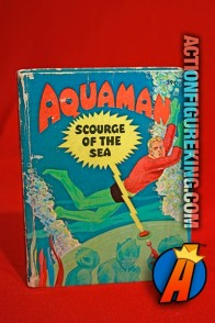 Aquaman: Scourge of the Sea A Big Little Book from Whitman.