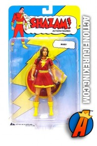 DC Direct 6-inch scale Mary Marvel action figure.