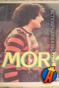 Robin Williams as Mork from Ork.