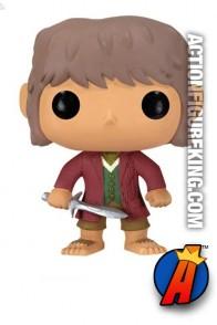 Funko Pop! Movies Bilbo Baggins vinyl figure from The Hobbit.