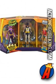 BATMAN Classic TV Series 3-Pack action figures featuring BATGIRL.