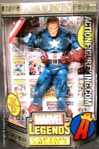 12 Inch Marvel Legends Unmasked Captain America from their short-lived Icons series.