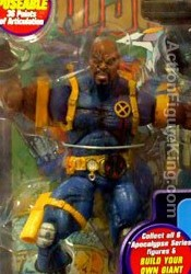 Marvel Legends Apocalypse Series 12 Bald Variant Bishop Action Figure from Toybiz.