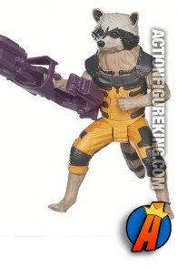 12-inch scale Titan Hero Series GOTG Rocket Raccoon action figure.