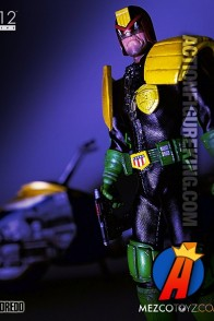 MEZCO 1:12 Collective 6-inch scale JUDGE DREDD Action Figure.