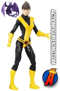 MARVEL LEGENDS KITTY PRYDE figure with Lockheed the Dragon.