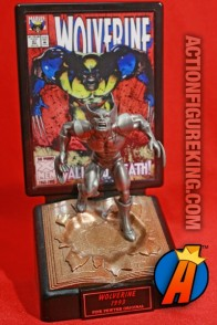 Racing Champions presents this pewter Wolverine figure.