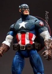 Marvel Legends Series 8 Variant Ultimate Captain America action figure from Toybiz.