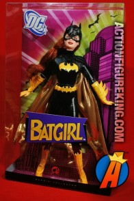 A packaged sample of this Barbie as Batgirl figure (Pink Label).