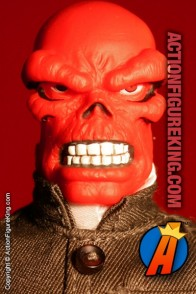 Marvel's Famous Cover Series 8 inch Red Skull action figure with removable fabric outfit from Toybiz.