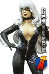 Fully articulated Marvel Select 7-inch scale Black Cat action figure from Diamond Select Toys.