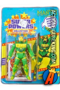 Vintage Kenner Super Powers Mantis action figure.