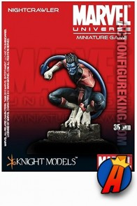 Marvel Universe 35mm NIGHTCRAWLER Figure from Knight Models.