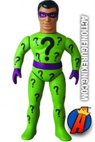 Mego-type Sofubi RIDDLER Figure from MEDICOM.