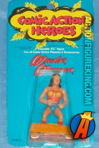 3.75-inch scale Comic Action Heroes Wonder Woman from Mego.