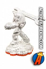Skylanders Giants variant Sparkle Sprocket figure from Activision.