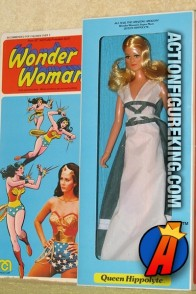 Wonder Woman's Queen Hippolyte 12-inch figure from Mego.