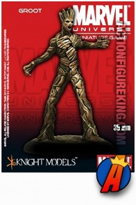 Marvel Universe 35mm GROOT Metal Figure from Knight Models.