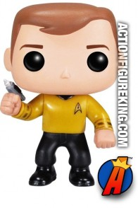 Funko Pop! Television STAR TREK Captain Kirk figure number 81.