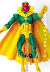Marvel Legends Series 7 Vision action figure from Toybiz.