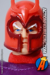 8 Inch Famous Cover Series Magneto action figure from Toybiz.