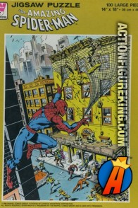 Whitman 100-Piece Spider-Man jigsaw puzzle.