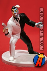 DC Comics BATMAN Animated TWO-FACE PVC Figure from Applause.