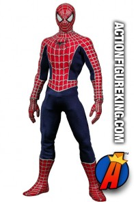 Sixth-scale Real Action Heroes SPIDER-MAN 2 movie figure from MEDICOM.