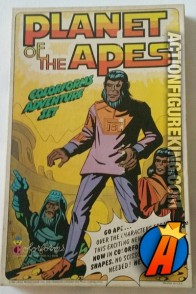 Planet of the Apes Adventure Set from Colorforms circa 1974.