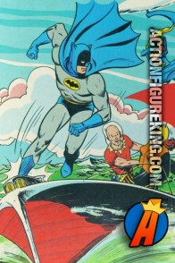 Nice vintage image from this Whitman Batman 150-Piece jigsaw puzzle.