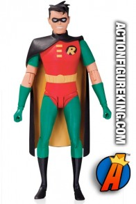 Full view of this Robin animated figure from DC Collectibles.