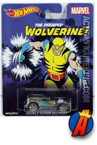 Hot Wheels Wolverine Double Demon Delivery die-cast vehicle.