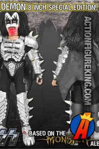 KISS The Demon special edition action figure from Monster Series 4 by Figures Toy Company.