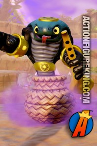 Skylanders Trap Team first edition Cobra Cadabra figure from Activision.