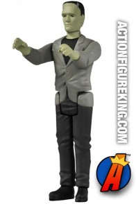 Full view of this ReAction retro-style Frankenstein action figure.