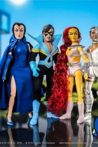 Retro-Style Series One New Teen Titan 8-inch aciton figures.