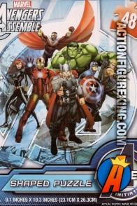 Cardinal 48-piece Avengers Assemble Jigsaw Puzzle.