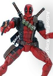 Marvel Legends Series 6 Deapool Action Figure from Toybiz.