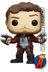 Funko Pop! Marvel GOTG Vol. 2 STAR-LORD Vinyl Figure.