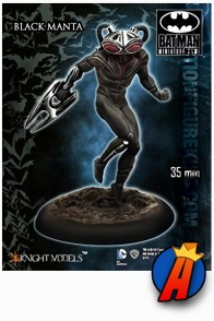 Knight Models BLACK MANTA 35mm Metal Figure.
