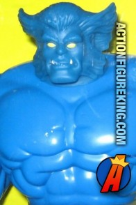 Second Edition Marvel Universe 10-inch Beast action figure by Toybiz.