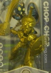 Skylanders Spyro's Adventure First Edition Variant Gold Chop Chop figure from Activision.