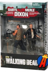 McFarlane Toys Walking Dead Dixon Brothers 2-Pack.