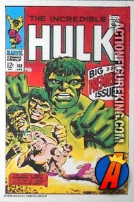 8 of 24 from the 1978 Drake's Cakes Hulk comics cover series.