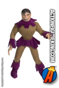 X-Men Movie Mutations Classic Toad action figure with removable fabric uniform.